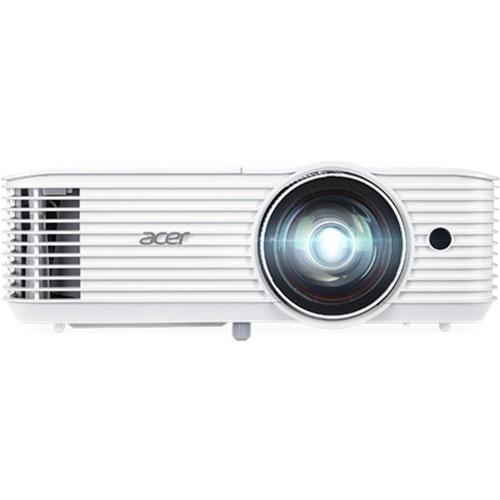 Acer S1386WH DLP-Projektor - 16:10 - 1280 x 800 Piel - 20,000:1 Kontrastverhältnis - 3600 lm Helligkeit - Vorderseite, Rüc