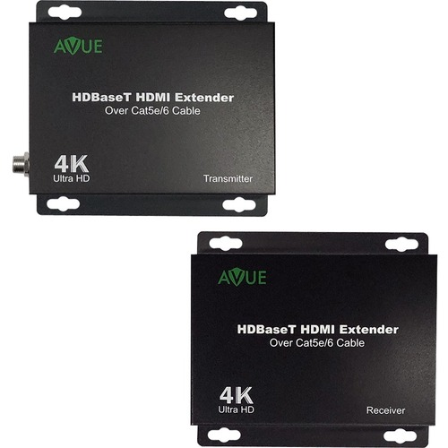 Avue HDMI-EX250, AVUE 4K HDBaseT HDMI Extender, up to 250ft. for 1080P/ 150ft. for 4K - 1 Input Device - 1 Output Device -