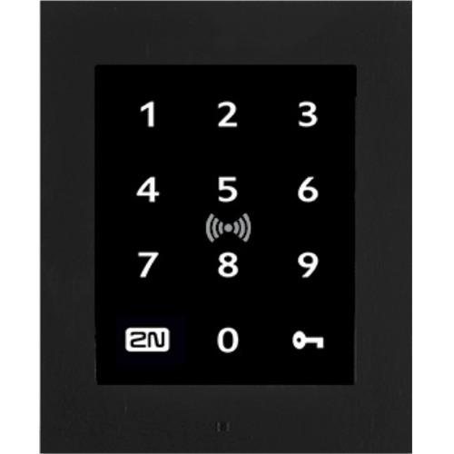 2N Kartenleser/Tastaturzugriff-Gerät - Schwarz - Tür - Nähe, Tastencode - Fast Ethernet - Netzwerk (RJ-45) - 12 V Gleichst