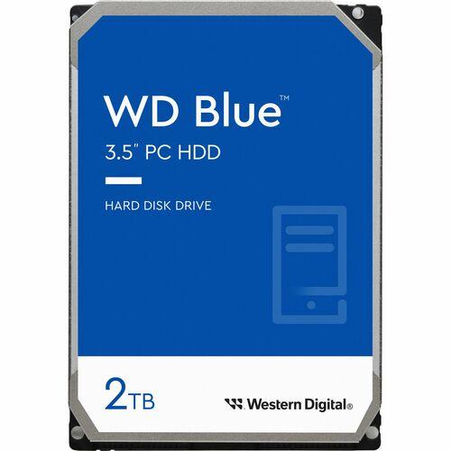 "WD Blue WD20EZAZ 2 TB Hard Drive - 3.5"" Internal - SATA (SATA/600) - Desktop PC Device Supported - 5400rpm - 2 Year Warranty"
