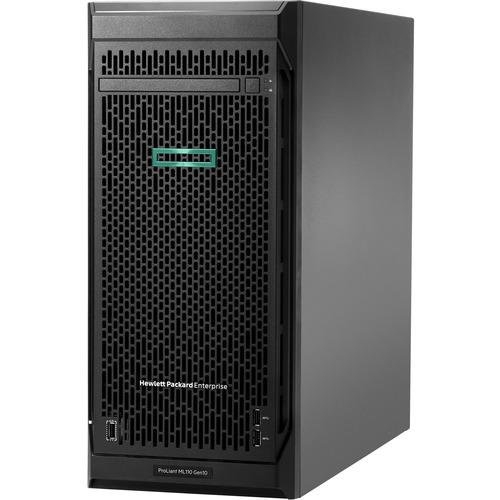 HPE ProLiant ML110 G10 4.5U Tower Server - 1 x Intel Xeon Bronze 3204 1.90 GHz - 16 GB RAM - Serial ATA/600 Controller - 1