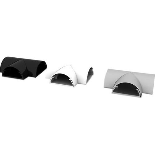 HAGOR Eckbeschlag - Silber - Plastik