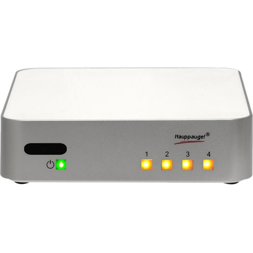 Hauppauge WinTV-quadHD USB TV Tuner with Built-in IR Receiver - Functions: TV Tuning - ATSC - USB WATCH & RECORD 4 ATSC CH