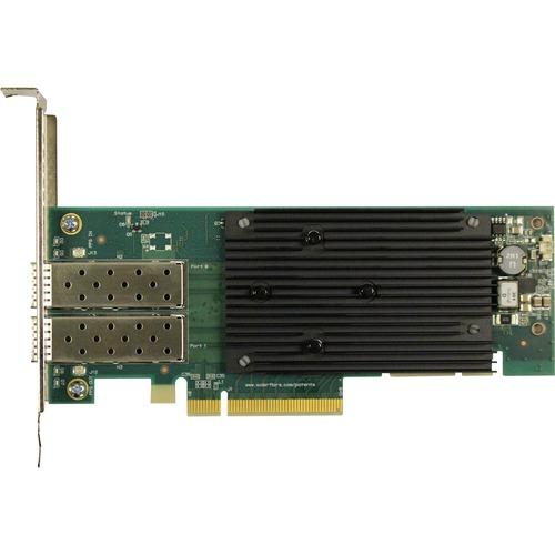 Solarflare XtremeScale X2522 25Gigabit Ethernet Card - PCI Express 3.1 x8 - 2 Port(s) - Optical Fiber - 25GBase-X - Plug-i