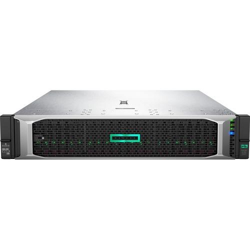 HPE ProLiant DL380 G10 2U Rack Server - 1 x Intel Xeon Silver 4208 2.10 GHz - 32 GB RAM - Serial ATA/600, 12Gb/s SAS Contr