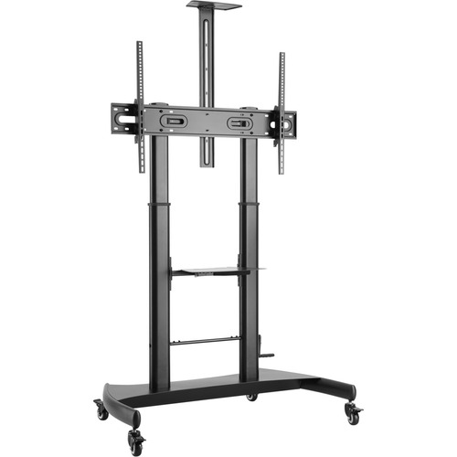 """V7 TVCART2 Pro TV Cart, up to 100 inch displays, Height Adjustable - Up to 100"""" Screen Support - 220 lb Load Capacity - 91"""