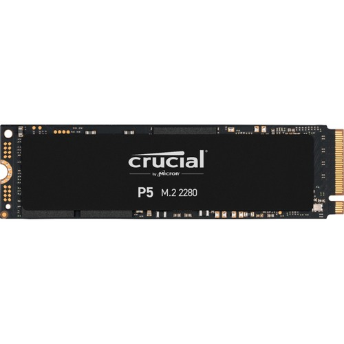 SSD Crucial P5 CT500P5SSD8 - M.2 2280 Interne - 500 Go - PCI Express NVMe (PCI Express NVMe 3.0) - 300 To TBW - 3400 Mo/s