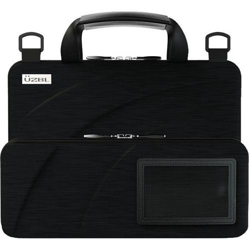 "UZBL Always-On Carrying Case for 13"" to 14"" Chromebook, Notebook - Black - Drop Resistant, Shock Resistant, Debris Resista"