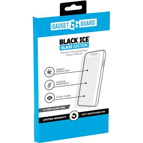 Gadget Guard Black Ice Screen Protector Clear - For LCD Mobile Computer - Scratch Resistant, Smudge Resistant - Tempered G