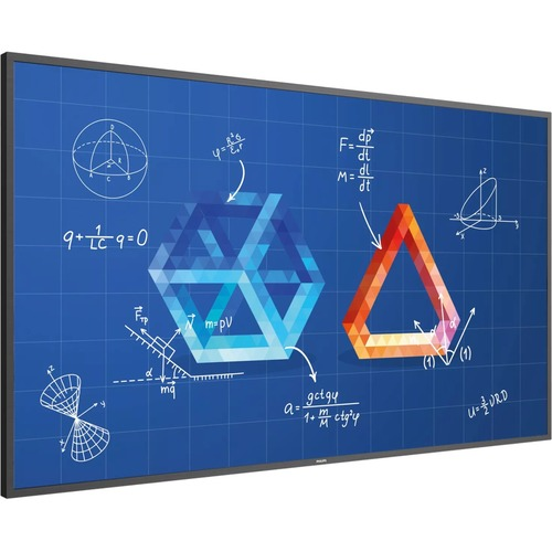 Philips T-line 75BDL3552T 189,2 cm (74,5 Zoll) 3D LCD Digital-Signage-Display - Touchscreen - 4 GB - 3840 x 2160 - LED - 3