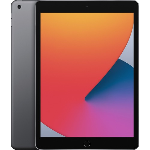 "Apple iPad (8th Generation) Tablet - 10.2"" Quad-core (4 Core) - 3 GB RAM - 32 GB Storage - iPadOS 14 - Space Gray - Apple"