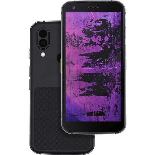 CAT S62 Pro 128 GB Smartphone - 14,5 cm (5,7 Zoll) Aktivmatrix-TFT / LCD Full HD Plus 2160 x 1080 - Kryo 260 GoldQuad-Core