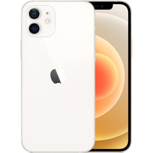 "Apple iPhone 12 128 GB Smartphone - 15.5 cm (6.1"") OLED Full HD Plus - Hexa-core (6 Core) - 4 GB RAM - iOS 14 - 5G - White"