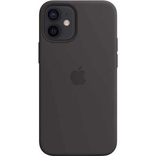 Coque Apple - pour Apple iPhone 12 mini Smartphone - Noir - 1 - Lisse - Résistant aux rayures, Résistant aux chocs - silic