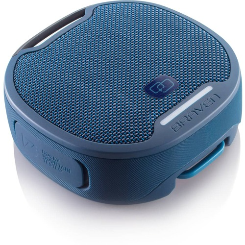 Braven BRV-S Portable Bluetooth Speaker System - 5 W RMS - Blue - Battery Rechargeable