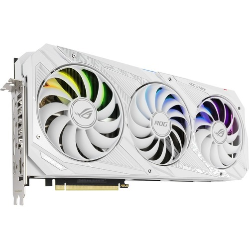 Asus ROG NVIDIA GeForce RTX 3080 Graphic Card GEFORCE RTX 3080 WHITE OC EDITION