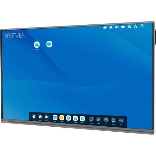 """V7 Interactive IFP6502-V7 165.1 cm (65"""") LCD Touchscreen Monitor - 16:9 - 8 ms - 1651 mm Class - Infrared - 20 Point(s) Mu"""