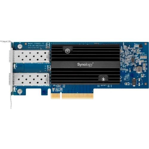 Synology Dual-Port 10GbE Adapter - PCI Express 3.0 x8 - 2 Port(s) - Optical Fiber - 10GBase-SR, 10GBase-LR - Plug-in Card