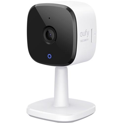 Eufy HD Surveillance Camera - 1 Pack - 32.81 ft - H.264, H.265 - CMOS - Bracket Mount - Weather Resistant US BLACK+WHITE I