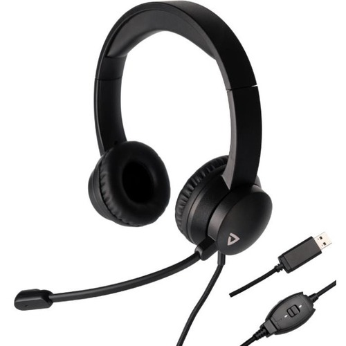 Thronmax THX-20 USB Headset - Stereo - USB - Wired - Over-the-head - Binaural - Circumaural - 5.91 ft Cable - Black