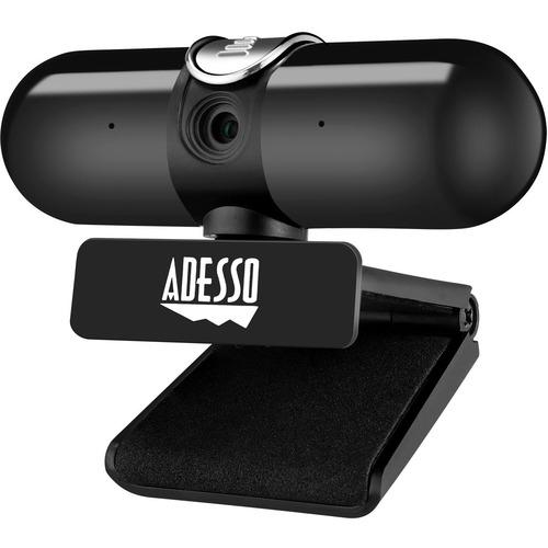 Adesso CyberTrack CyberTrack H7 Webcam - 4 Megapixel - 30 fps - USB 2.0 - TAA Compliant - 2560 x 1440 Video - CMOS Sensor