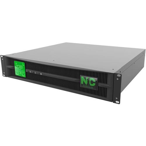 N1C Technologies Lithium-Ion L N1C.L2200G 2.2kVA Rack/Tower UPS - 2U Rack/Tower - 25 Minute Stand-by - 230 V AC Input - 20