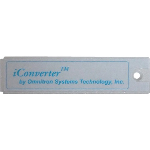 Omnitron Systems Blank Module Panel For iConverter Managed Power Chassis FOR ICONVERTER CHASSIS