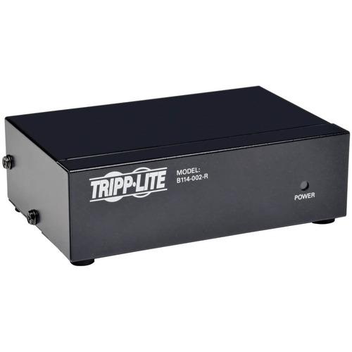Tripp Lite 2-Port VGA / SVGA Video Splitter Signal Booster High Resolution Video - 2048 x 1536 - QXGA - 1 x 2 - Computer2